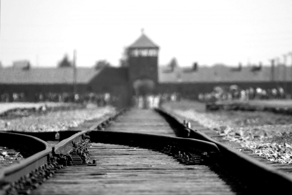 Railroad to Auschwitz Concentration Camp. Photo by pixabay.com from Pexels